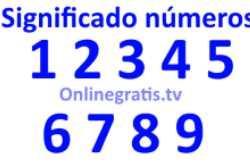 Significado números
